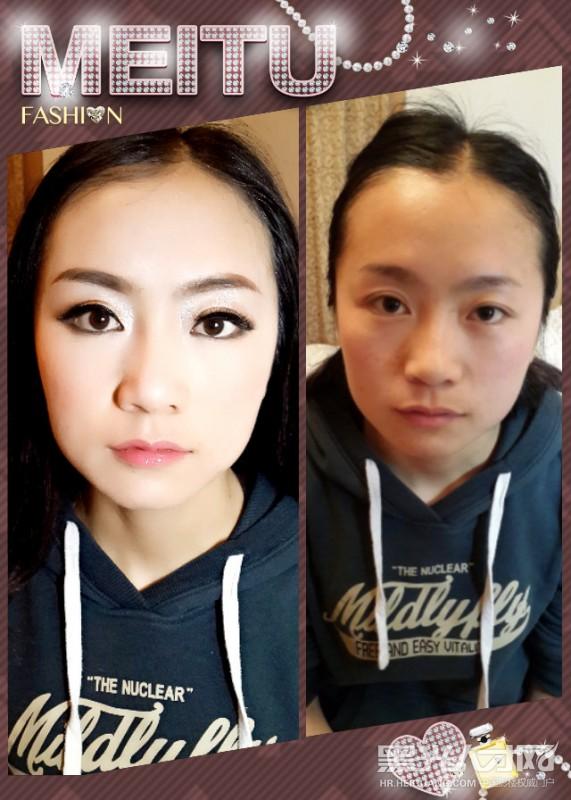 化妆师做ppt背景素材