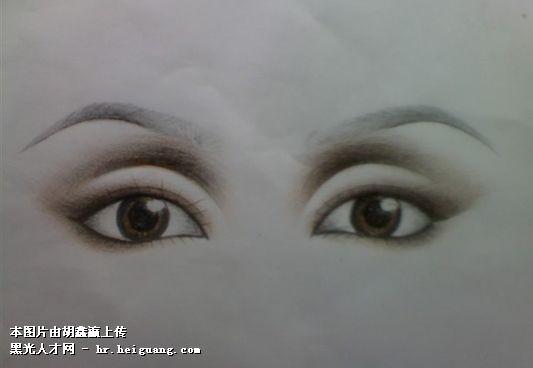 彩妆创意纸妆图片