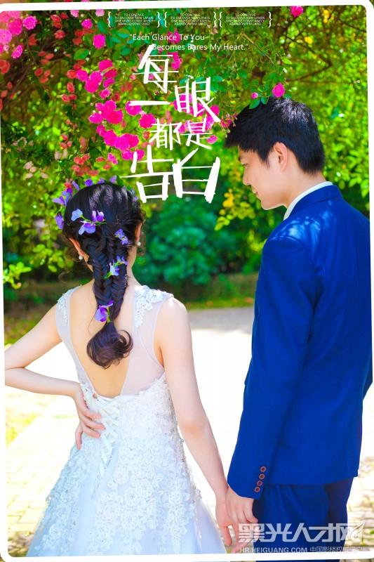 2014年成都米兰婚纱摄影担任摄影师